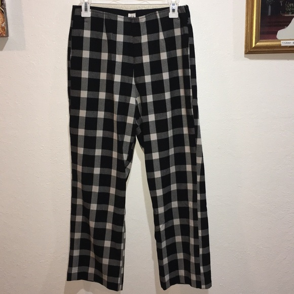 04aa416776cdc1 GAP Pants | Checkered Work Flare Crop Size 10 | Poshmark